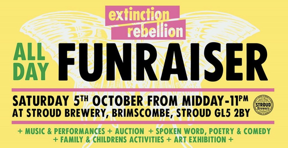 Extintion Rebellion all day fundraiser