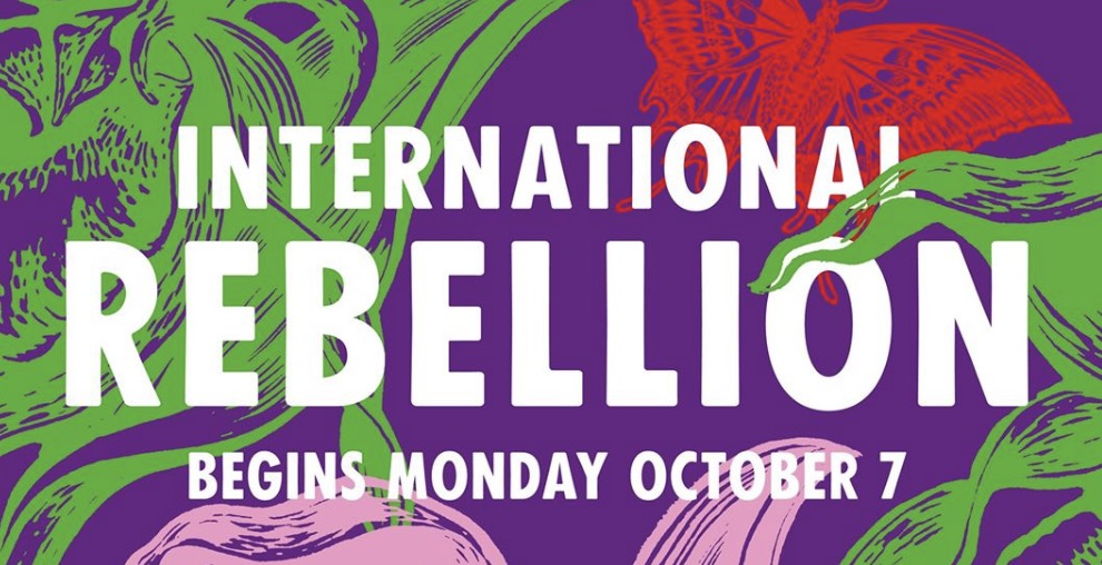International rebellion begins Monday October 7