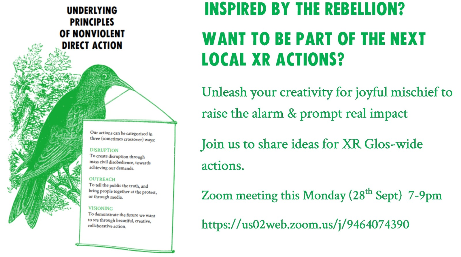 XR glos action planning banner
